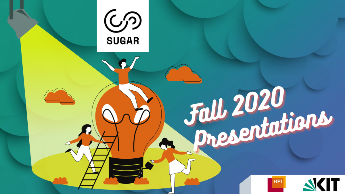 SUGAR Fall 2020 Prsenations